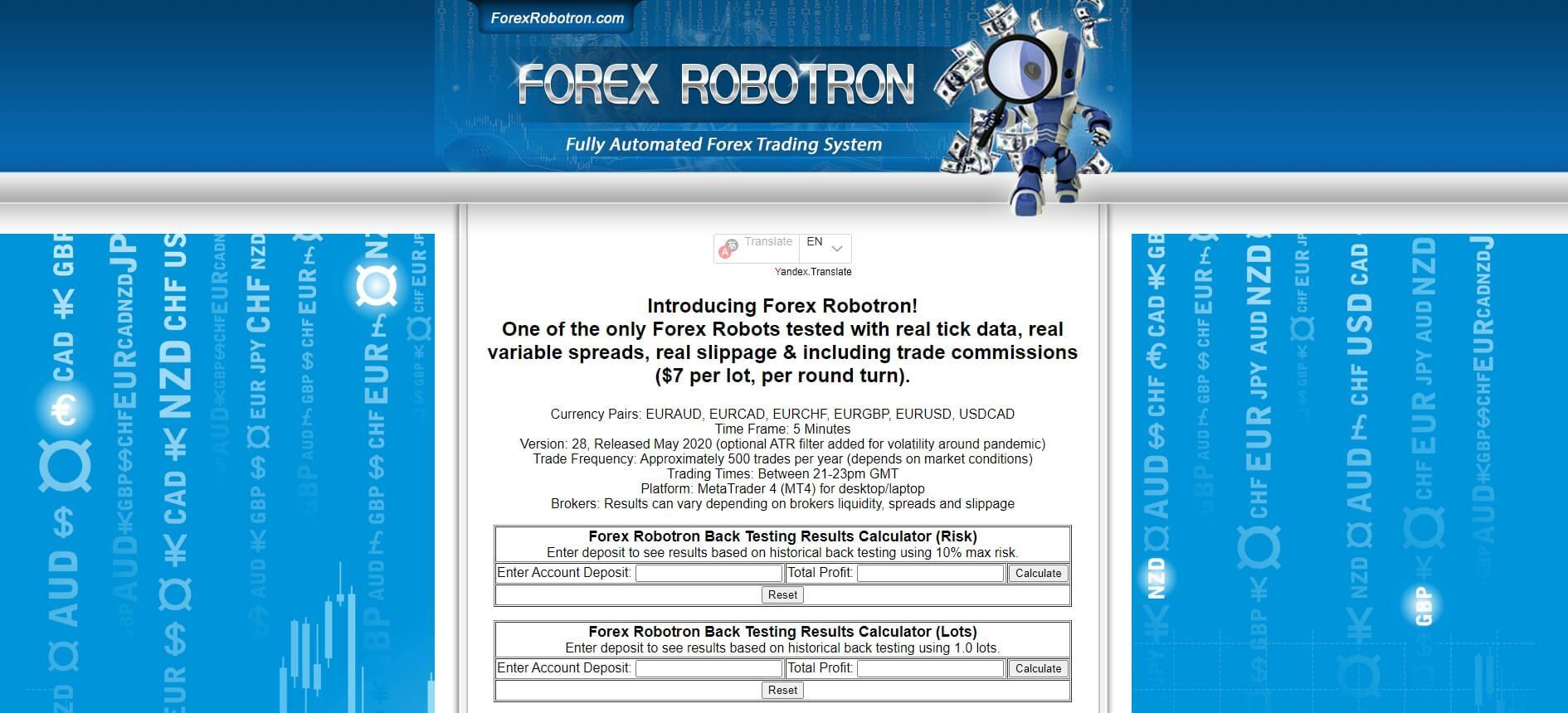 forex ea robotron
