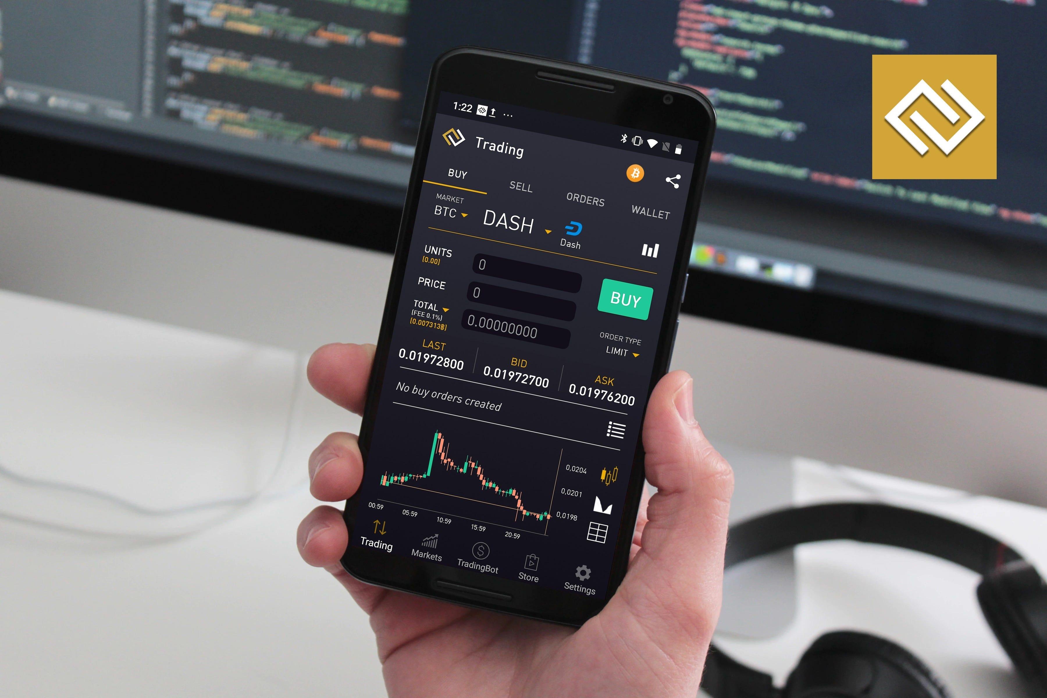 binance trading bot android prekybos akcijų pasirinkimo privalumai ir trūkumai