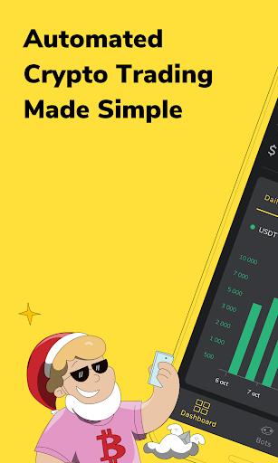 binance trading bot android pasirinkimo sandorių lygis ištikimybę