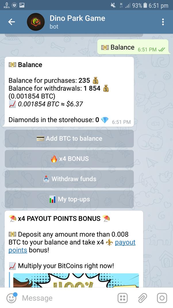 legit telegram bitcoin bot without investment jeilio universiteto investicijų strategija