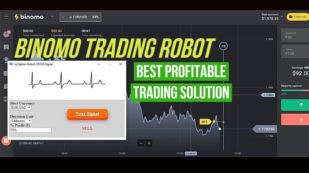 robotas prekybai dvejetainiais opcionais
